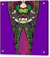Celtic Forest Fairy - Beauty Acrylic Print