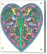 Celtic Heart Acrylic Print