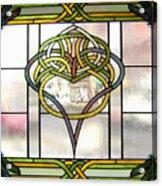 Celtic Heart Acrylic Print by Jane Croteau