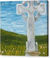 Celtic High Cross Acrylic Print