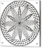 Celtic Knot Mandala Acrylic Print