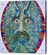 Celtic Man Acrylic Print