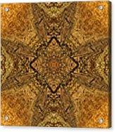 Celtic Mandala Abstract Acrylic Print