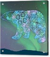 Celtic Polar Bear Acrylic Print