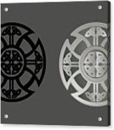 Celtic Shield Acrylic Print
