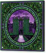 Celtic Sleeping Beauty Part IIi The Journey Acrylic Print