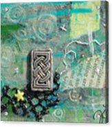 Celtic Tones Acrylic Print
