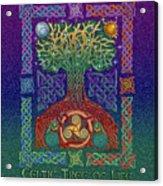 Celtic Tree Of Life Acrylic Print