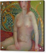 Celtic Woman  Copyrighted Acrylic Print