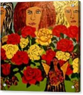 Celtic Womens Reunion Acrylic Print