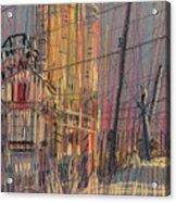Cement Hopper II Acrylic Print