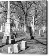Cemetery 3 Acrylic Print