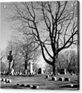 Cemetery 5 Acrylic Print