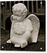 Cemetery Angel Acrylic Print