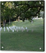 Cemetery At Shiloh National Military Park In Tennessee Acrylic Print