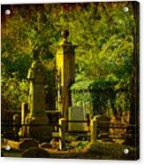 Cemetery In Charleston Acrylic Print