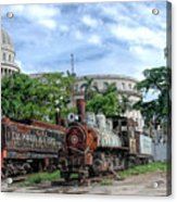 Cemetery Of Railway Acrylic Print
