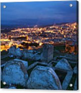 Cemetery Overlooking Fes, Morocco Acrylic Print
