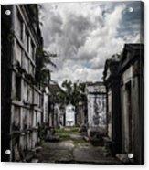 Cemetery Row Acrylic Print