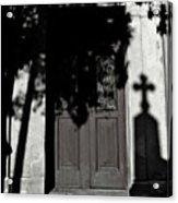 Cemetery Shadow Acrylic Print