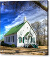 Centennial Christian Church Est 1909 Acrylic Print