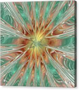 Center Hot Energetic Explosion Acrylic Print