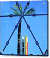 Center Of The Palm Acrylic Print