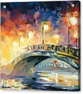 Center Park Bridge Acrylic Print