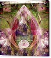 Centered Garden Acrylic Print