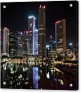 Central Business District, Singapore Acrylic Print