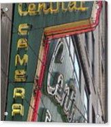 Central Camera Acrylic Print