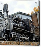Central City Locomotive Acrylic Print