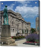 Central Library Milwaukee Street View Acrylic Print