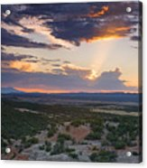 Central New Mexico Sunset Acrylic Print