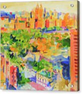 Central Park From The Carlyle Acrylic Print