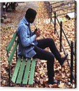 Central Park Musician Acrylic Print