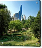 Central Park Ny Acrylic Print