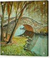 Central Park Overpass Acrylic Print