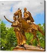 Central Park Sculpture-general Sherman Acrylic Print