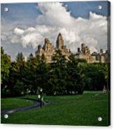 Central Park Skies Acrylic Print