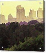 Central Park Skyline Acrylic Print