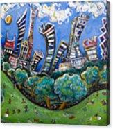 Central Park South Acrylic Print