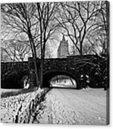 Central Park West And The San Remo Building  Acrylic Print