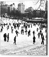 Central Park Winter Carnival Acrylic Print