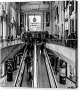 Central Station Milan Acrylic Print
