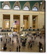 Central Station New York  Acrylic Print