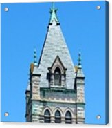 Central United Methodist Church Of Asheville Nc Acrylic Print