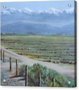 Central Valley At Tulare Acrylic Print