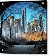 Central View Acrylic Print