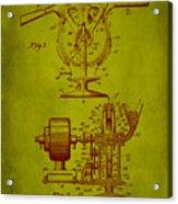 Centrifugal Gun Patent Drawing 3j Acrylic Print